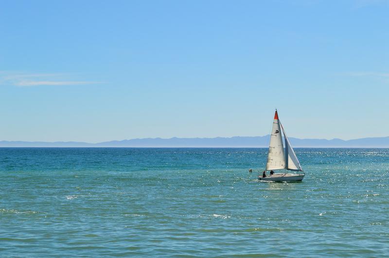 boat in Santa Barbara
