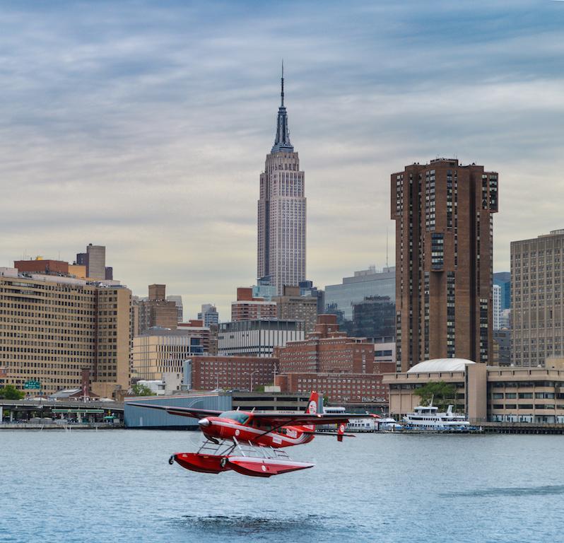 flying NYC