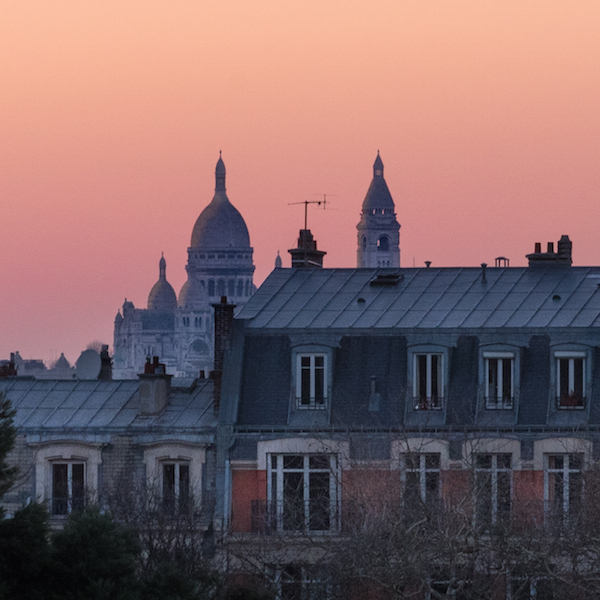 Winter sunset - Montmartre