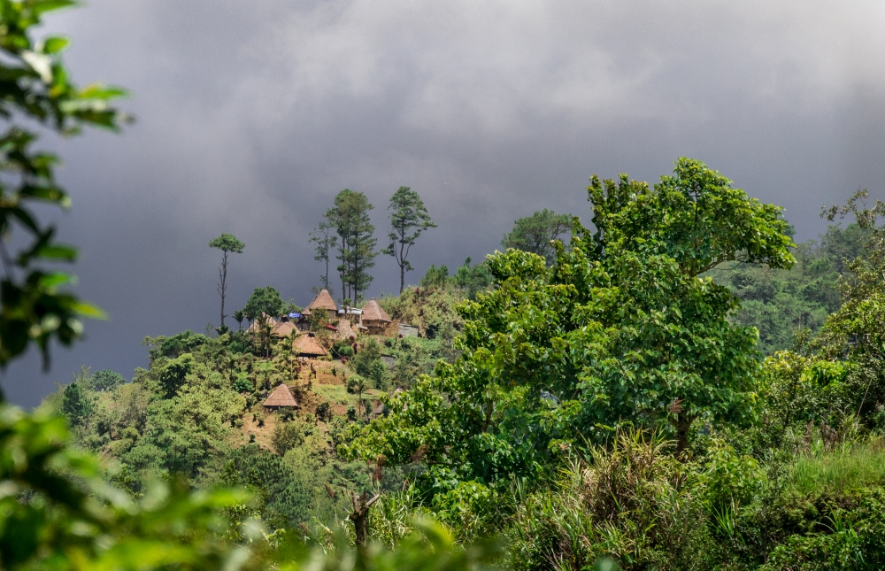 looming storm village