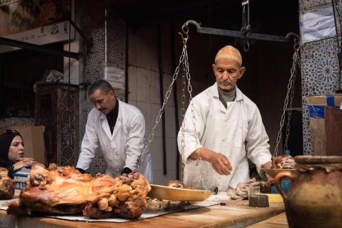 street méchoui marrakech morocco